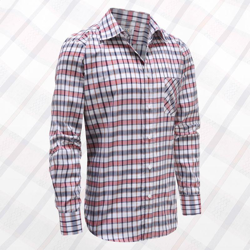 Männer Langarm Shirt mit Knöpfen, ideal für Parkinson, Rheuma