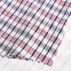 Shirt des hommes de chemise magnétique avec finition ronde