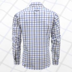 Magnatic shirt shirt men's long-sleeved, loose fit model