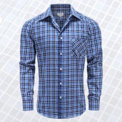 Myle Langarm-Shirt mit Knöpfen, Taschen