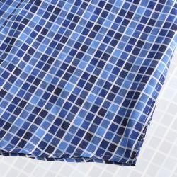 Heren overhemd magnetisch overhemd met ronde afwerking