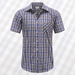 Myle Kurzarm Oberhemd mit Knöpfen, Taschen