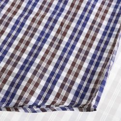 Männer Oberhemd magnetisch Oberhemd mit runden Abschluss