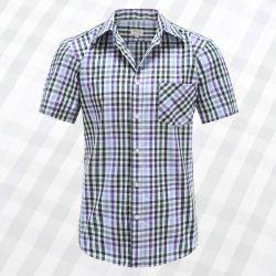 Myle Kurzarm Shirt mit Knöpfen, Taschen