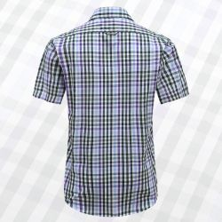 Magnatic shirt mens short sleeve, loose fit model