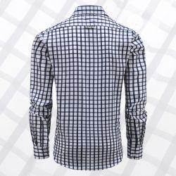 Overhemd heren lange mouw met magneten, loose fit model