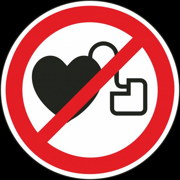 Schrittmacher-Warnung